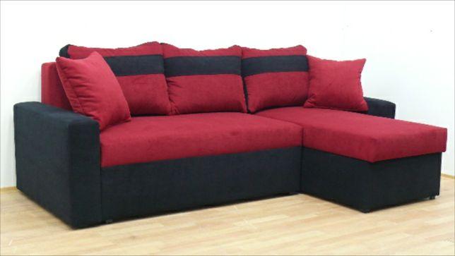 Nowy Naroznik w 24h dostawa Gratis sofa rogówka kanapa funkcja spania