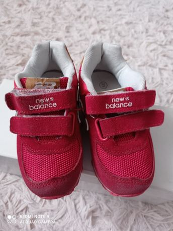 Adidasy czerwone New balance rozm 25