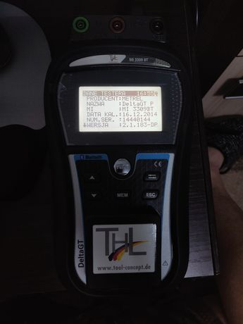 Miernik instalacji bezpieczeństwa Metrel 3309 BT
