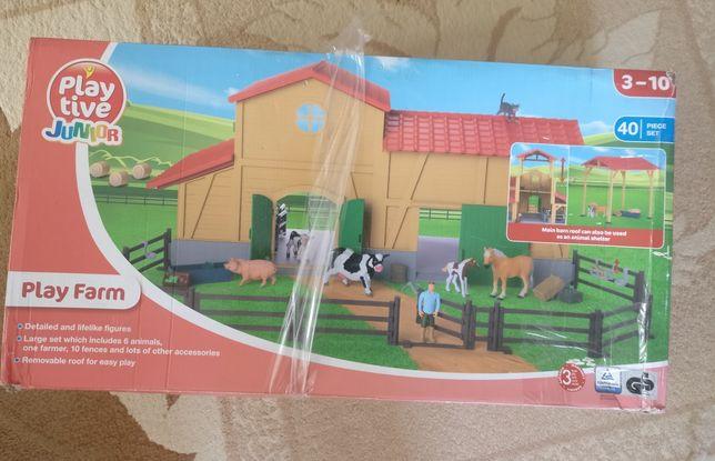 Игра Ферма, play farm, игрушечная ферма, Lego