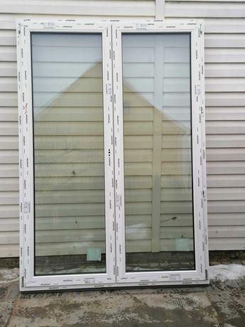 Okno tarasowe bez słupkowe