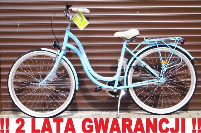 NOWY STYLOWY Rower ROMET 28' dla kobiety. + LICZNIK w GRATISIE !!