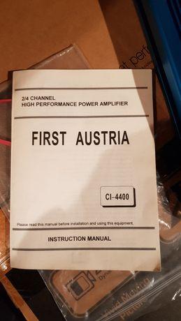 Wzmacniacz First Austria 1600W