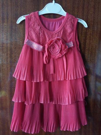 Платье нарядное 1 - 2 года