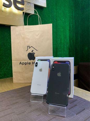 iPhone X 256 silver Neverlock Гарантия 6 месяцев Идеал Магазин
