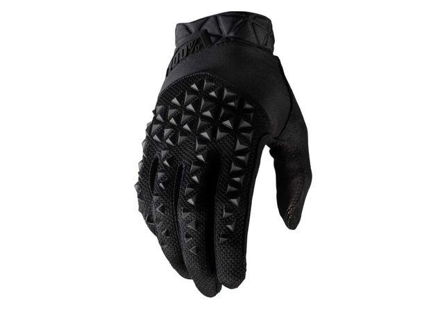 Rękawiczki rowerowe 100% Geomatic black długi palec trail enduro dh xc