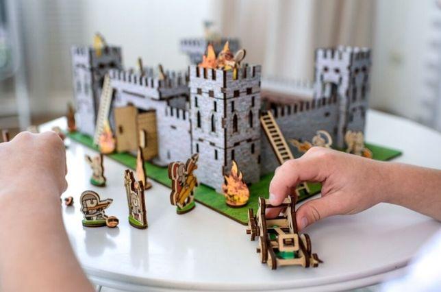 Новинка! Конструктор 3D Замок Nestwood Крепость игровой набор лего 3Д