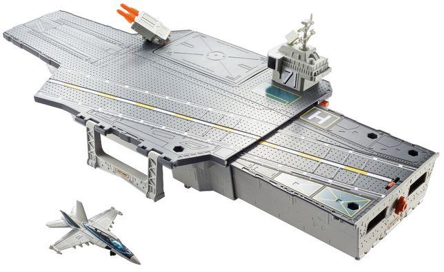 Lotniskowiec Top Gun Mattel Matchbox