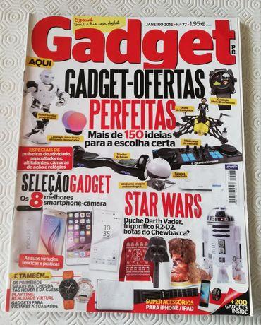 Pack de 5 Revistas Gadget + 5 revistas de informática de oferta