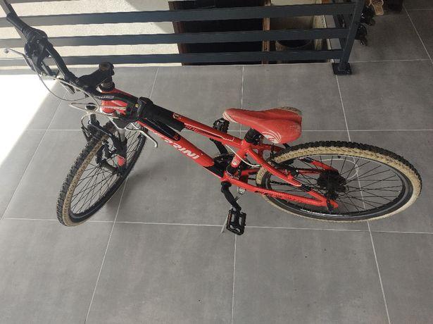 Rower Dzieciecy Ferrini Ride Stan BDB Rowerek Shimano Koła R24