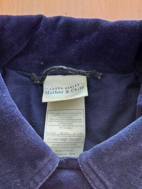 Пальто велюровое Laura Ashley.