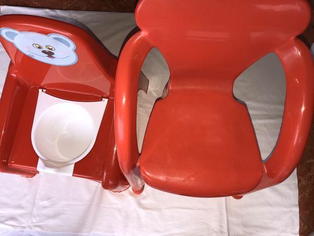 Pote + cadeira