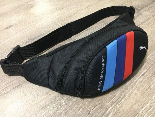 Бананка БМВ сумка мессенджер молодежная спортивная сумка