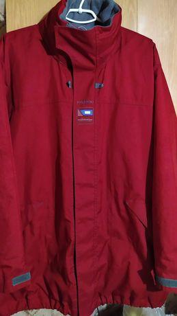 Фирменная куртка утепленная м капюшоном,размер 54