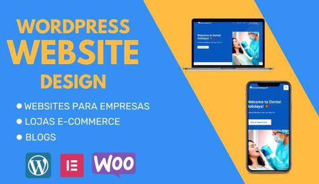Faço Website para Empresas, Empregados e Freelancers