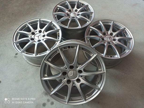Диски 5х112 R16 Mercedes Original et45.5 7.5j