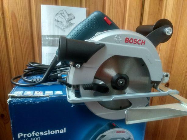 Новая Циркулярная дисковая пила Bosch GKS 600 Professional
