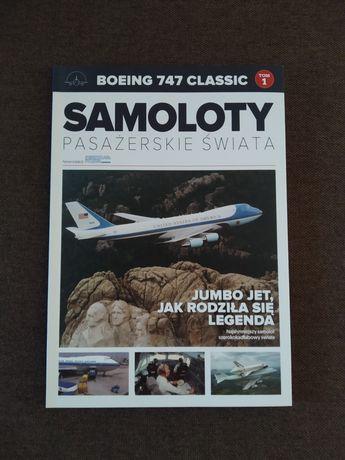 Samoloty pasażerskie świata - Boeing 747 Classic