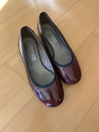 Sapatos de menina, tipo Sabrina, eureka, n.º 35
