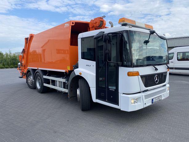 Mercedes Benz Econic 2633 euro V śmieciarka NTM WAGA stan idealny