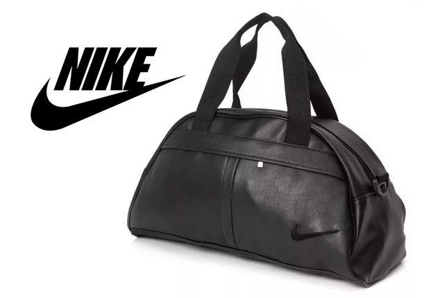 Спортивная сумка Nike черная, мужская / женская, в спортзал тренажерку