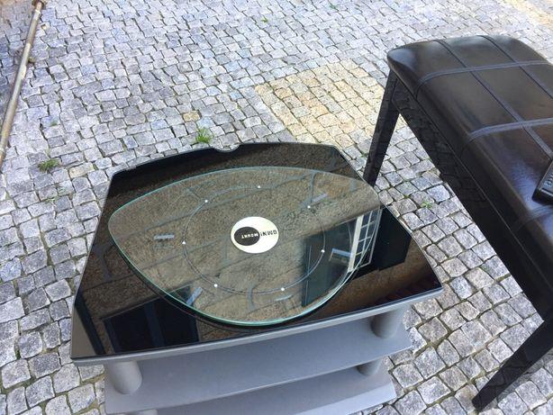 Mesa para tv ou aparelhagem de música + suporte Tv 360°
