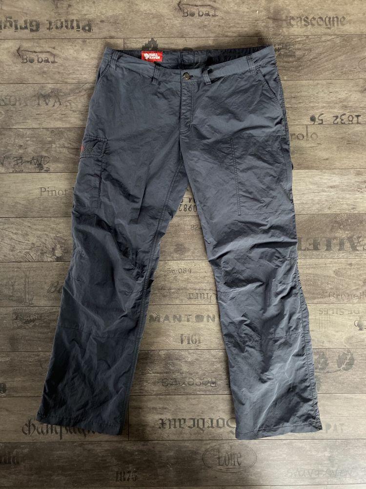 Spodnie Fjallraven górskie turystyczne trekingowe wspinaczkowe 48 L