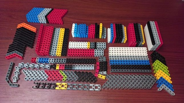 Детали Lego technic Лего техник поштучно люфтармы,пины