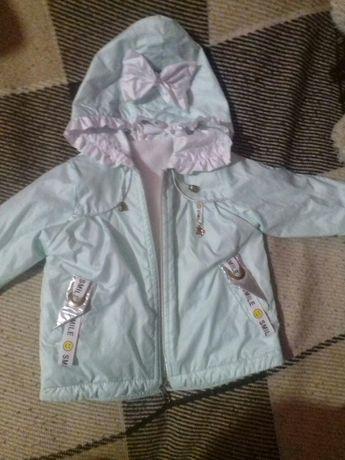 Курточка весняна на дівчинку