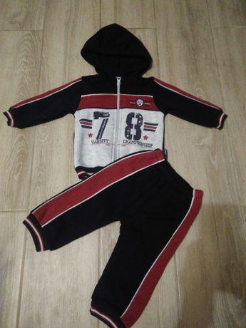 Спортивный костюм 9 месяцев, 74 см