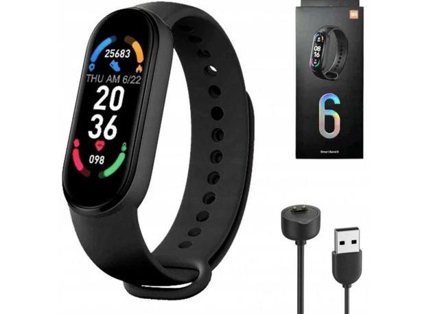 M6 Smartwatch Zegarek Smart Band opaska sportowa fitness