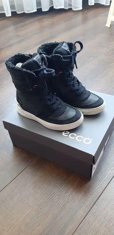 Зимние сапожки  сапоги ботинки Ecco для девочки 28 размер