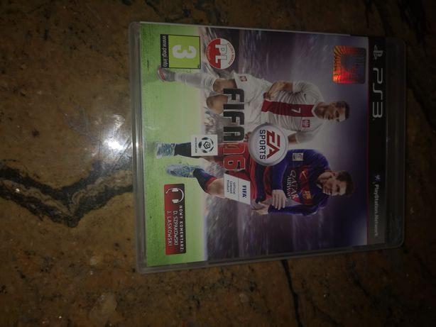 Gra FIFA 16 na PS3