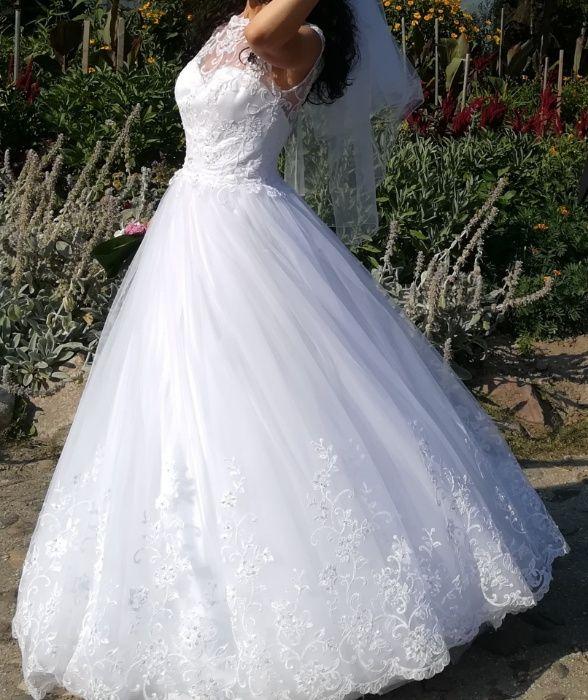 Suknia ślubna 34 / 36 księżniczka princessa