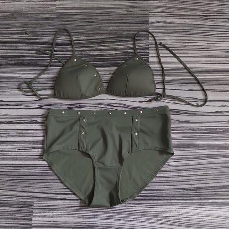 Body Zone dwuczęściowy strój kąpielowy / khaki (40)