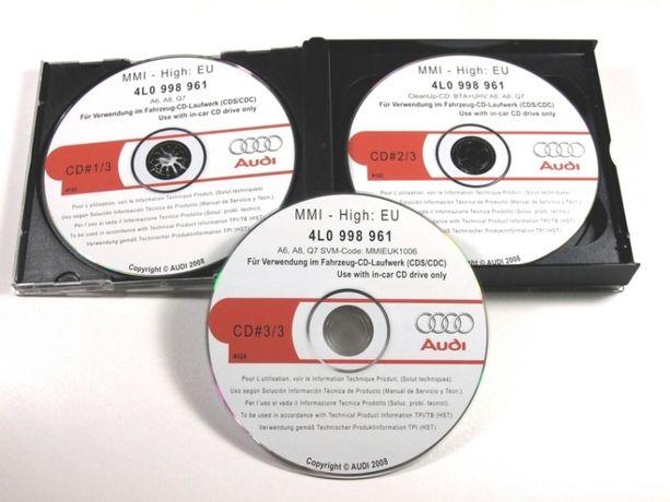 диски dvd cd русификация ауди mmi mib2