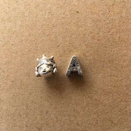 Contas para pulseira de pandora em prata de lei - cada uma 14€