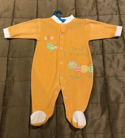 Babygrows bebé 1 mês e 6 meses