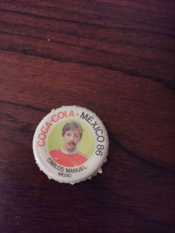 Cromo carica Coca-Cola México 86