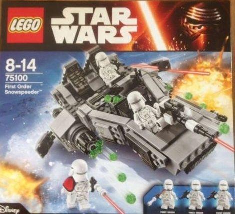 Lego Star Wars 75100 FIRST ORDER SNOWSPEEDER 24h sklep Łódź FVAT23%
