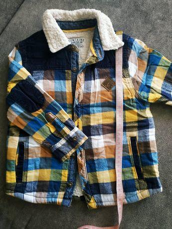Рубашка, куртка с утеплителем