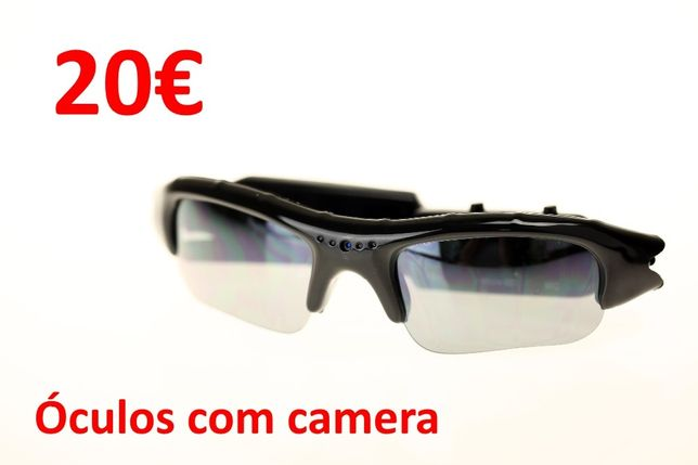 óculos de sol com camara