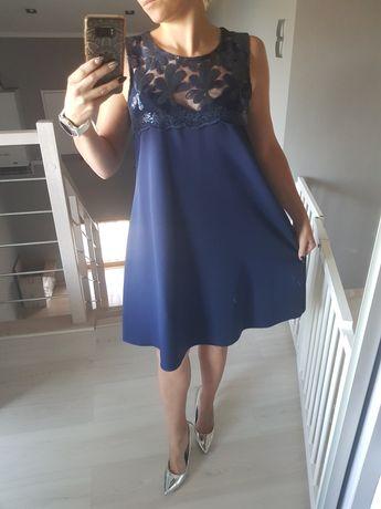 Sukienka elegancka , może być ciążowa 38