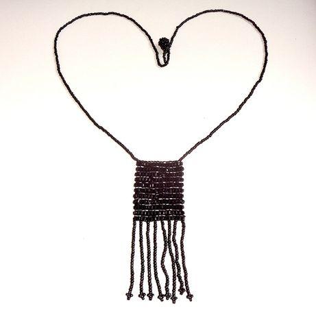 Украшение подвеска колье из бисера бусы ожерелье жіноче намисто кольє