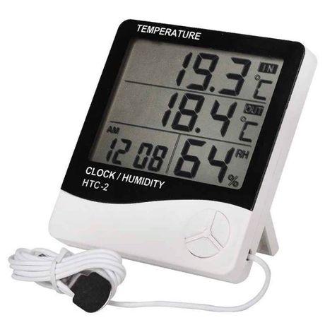 Цифровой термометр гигрометр HTC-2