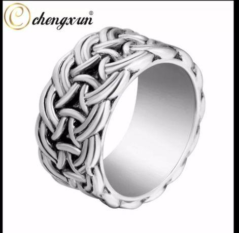 Мужское женское кольцо бижутерия хром каблучка