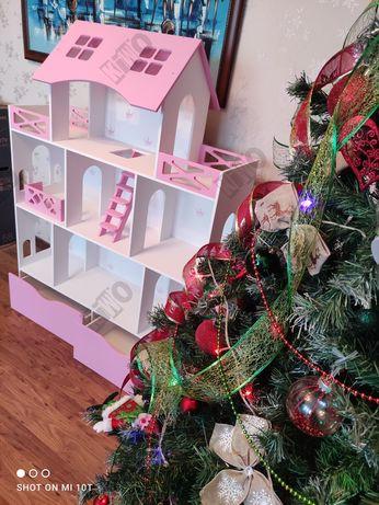 Кукольный домик для Barbie, с лесьницей