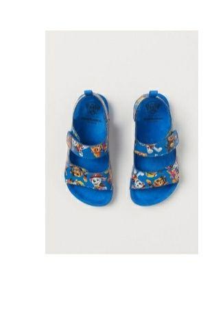 Sandałki chłopięce H&M psi patrol 25 nowe