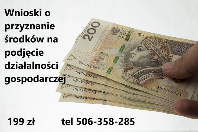 Dotacje z PUP na podjęcie działalności gospodarczej