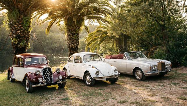 Carros Clássicos Casamentos - aluguer